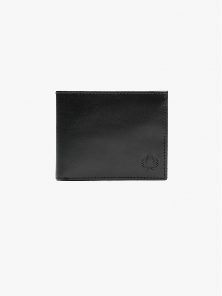 Fred Perry Contrast Leather Billfold | Fuxia, Urban Tribes United.
