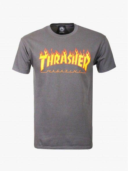Thrasher Flame Logo | Fuxia, Urban Tribes United.