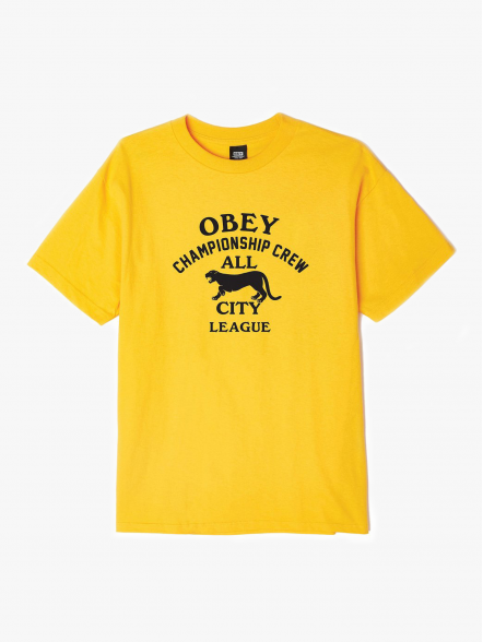 Obey All City Panther | Fuxia, Urban Tribes United.