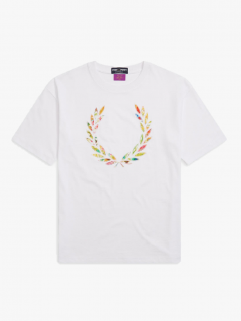 Fred Perry Liberty Print Applique W