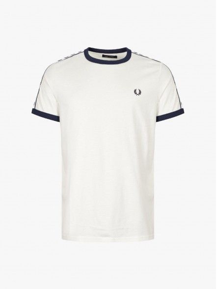 Fred Perry Taped Ringer   Fuxia, Urban Tribes United.