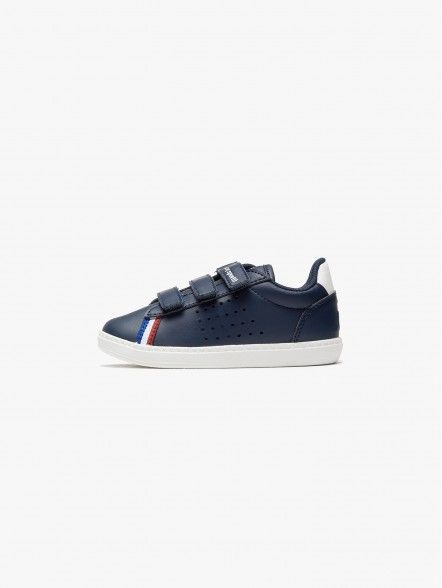 Le Coq Sportif Courtstar Leather Inf | Fuxia, Urban Tribes United.