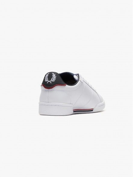 Fred Perry Court Leather | Fuxia, Urban Tribes United.
