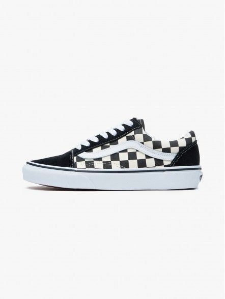 Vans Old Skool Primary Check | Fuxia, Urban Tribes United.