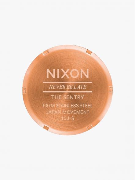 Nixon Sentry Leather | Fuxia