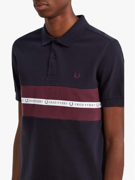 Fred Perry Sports Tape | Fuxia, Urban Tribes United.