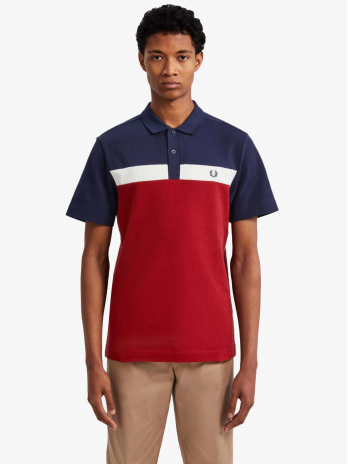 Fred Perry Contrast Panel