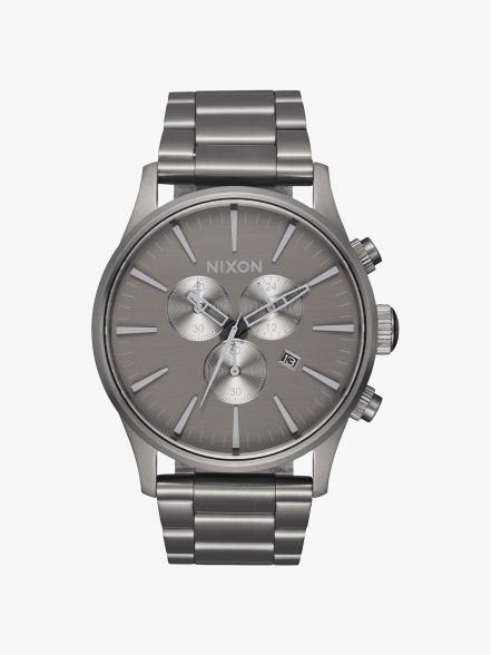Nixon Relógio Sentry Chrono | Fuxia