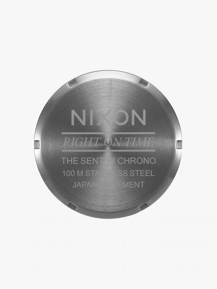 Nixon Relógio Sentry Chrono Leather | Fuxia