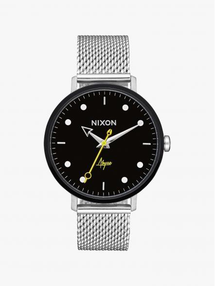 Nixon Arrow Milanese | Fuxia