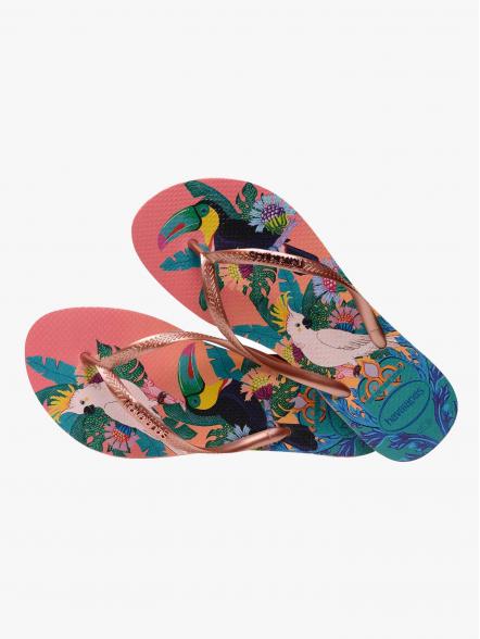 Havaianas Slim Tropical W | Fuxia