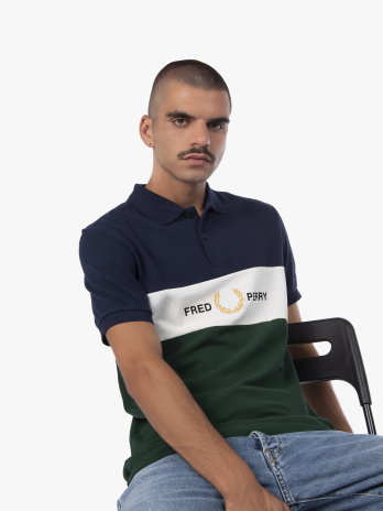 Fred Perry Embroidered Panel