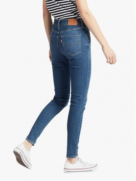 Levis 720 High-Waisted Super Skinny | Fuxia