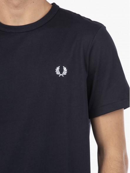 Fred Perry Ringer   Fuxia, Urban Tribes United.