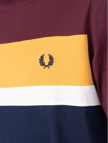 Fred Perry Colour Block | Fuxia