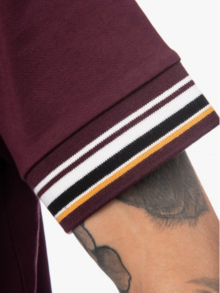 Fred Perry Striped Cuff | Fuxia, Urban Tribes United.
