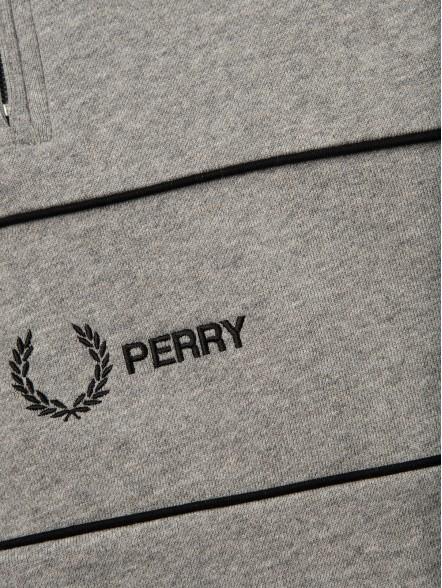 Fred Perry Zip Embroidered Panel | Fuxia, Urban Tribes United.