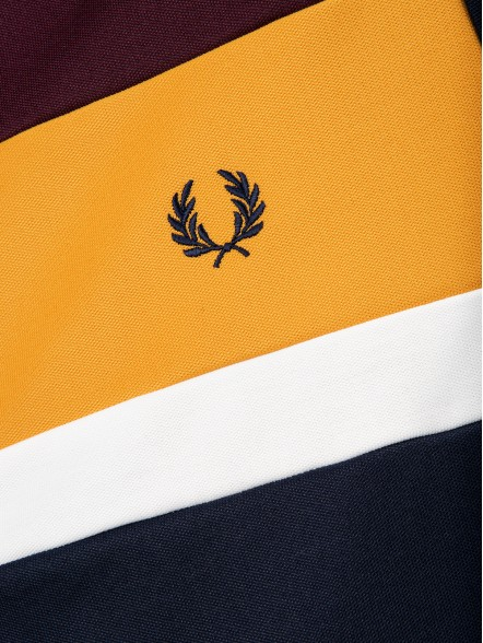 Fred Perry Colour Block Track | Fuxia, Urban Tribes United.