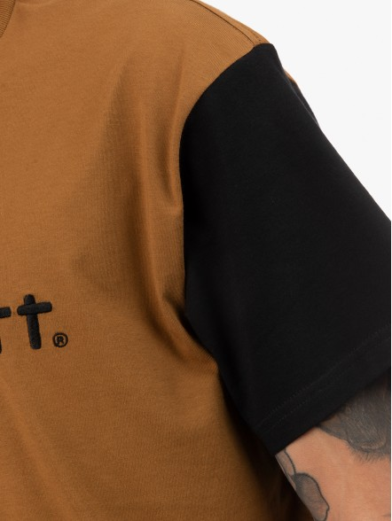 Carhartt S/S Carhartt Tricol | Fuxia, Urban Tribes United.