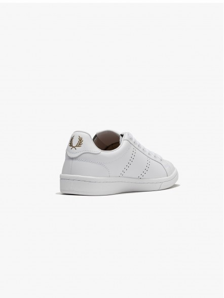 Fred Perry Authentic Leather W | Fuxia