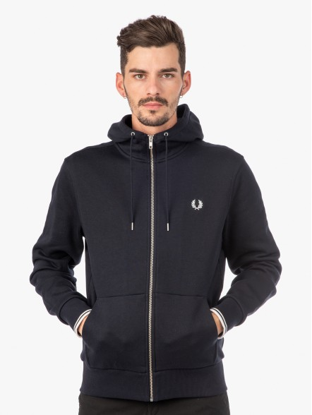Fred Perry Through Zip | Fuxia