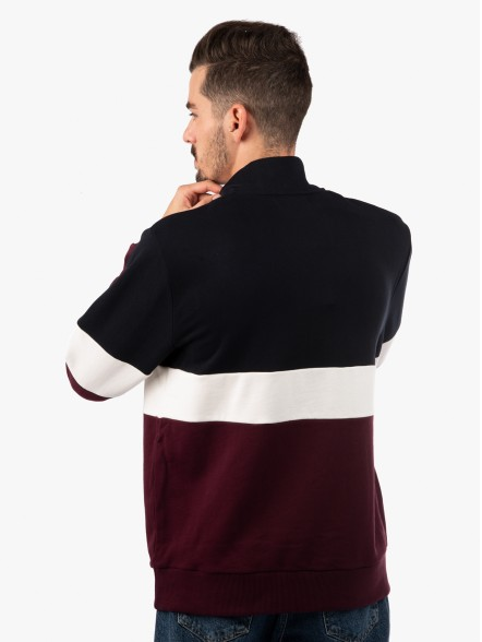 Fred Perry Authentic Shield Zip | Fuxia, Urban Tribes United.