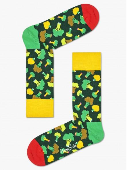 Happy Socks Broccoli | Fuxia
