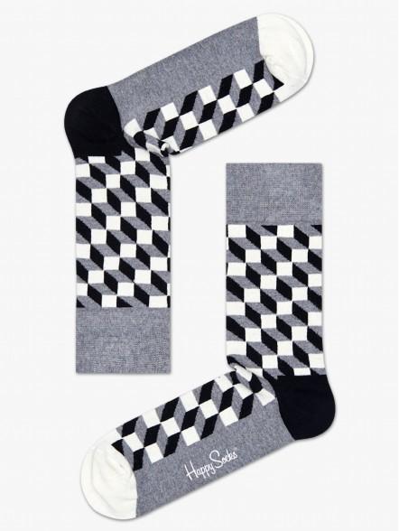 Happy Socks Filled Optic | Fuxia, Urban Tribes United.