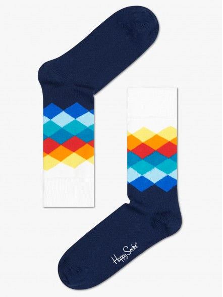 Happy Socks Faded Diamonds   Fuxia, Urban Tribes United.