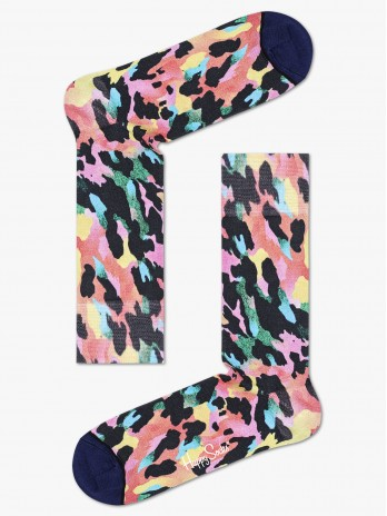 Happy Socks Gradient Leopard Printed