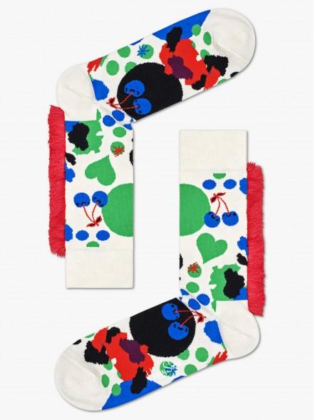Happy Socks Mane Jumbo Dot | Fuxia