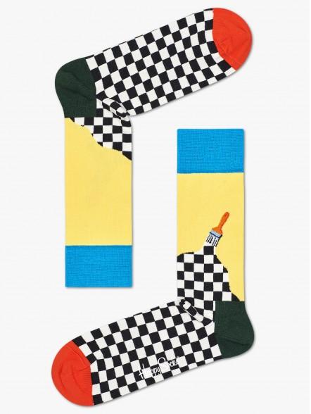 Happy Socks Paint   Fuxia