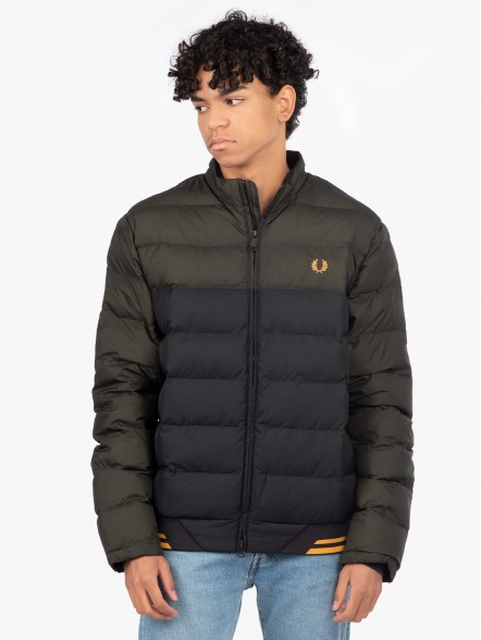 Fred Perry Colour Block Insulated | Fuxia