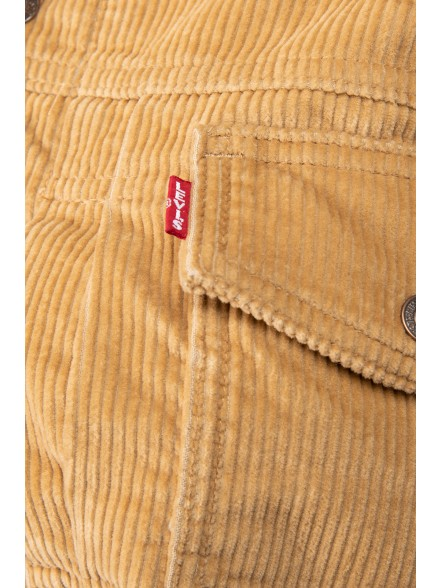 Levis New Heritage Cord Trucker W | Fuxia, Urban Tribes United.