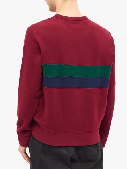 Polo Ralph Lauren Striped Fleece | Fuxia, Urban Tribes United.
