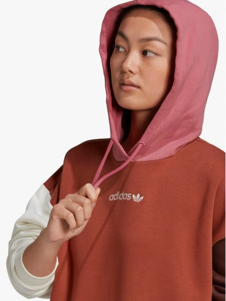 adidas Hooded W   Fuxia, Urban Tribes United.