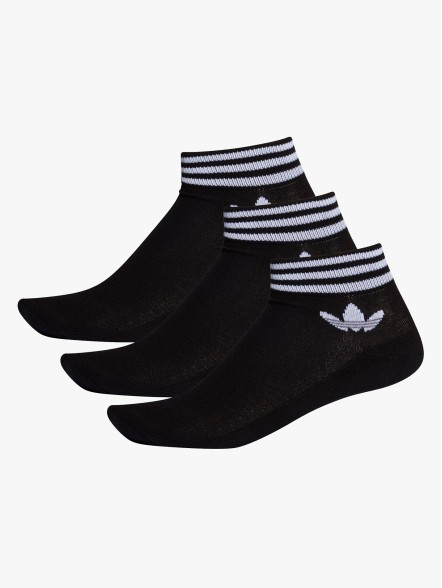 adidas Pack3 Trefoil Ankle | Fuxia