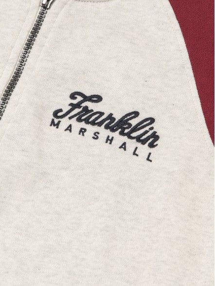 Franklin & Marshall C/ Capuz Trough Varsity Jr | Fuxia, Urban Tribes United.