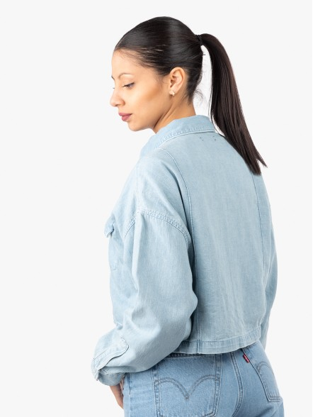 Levis Made & Crafted Relaxed W | Fuxia