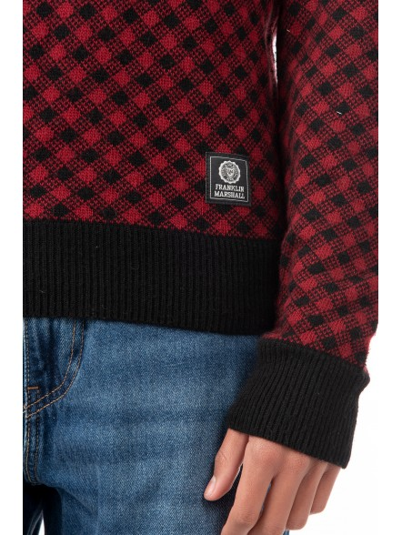 Franklin & Marshall Knitwear Wool   Fuxia, Urban Tribes United.