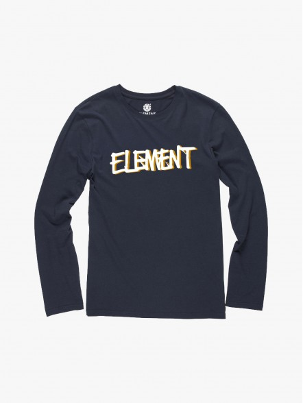 Element Long Sleeve Word Boy | Fuxia, Urban Tribes United.