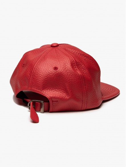 Stussy Mini Ss Leather Strapback | Fuxia, Urban Tribes United.