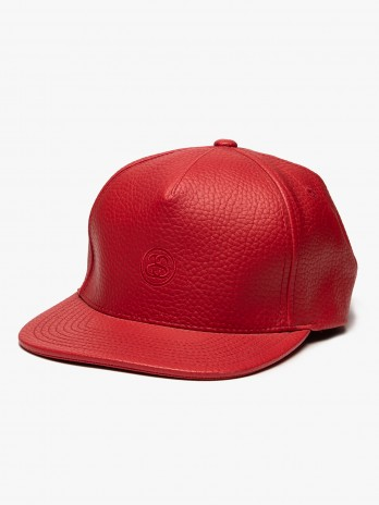 Stussy Mini Ss Leather Strapback