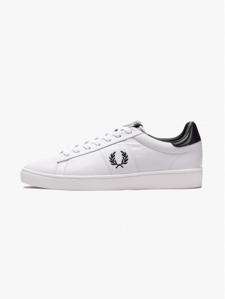 Fred Perry Spencer Leather | Fuxia