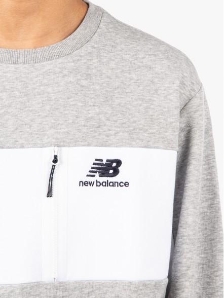 New Balance Athletic Crew | Fuxia