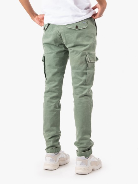 Franklin & Marshall Old Army Green | Fuxia
