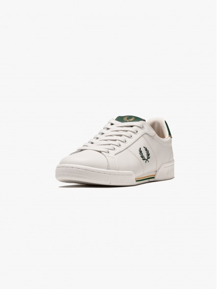 Fred Perry B722 Leather | Fuxia