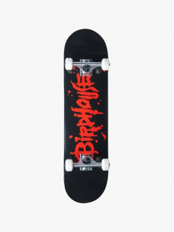 Birdhouse Complete Stage 1 Blood Logo Black 8 IN