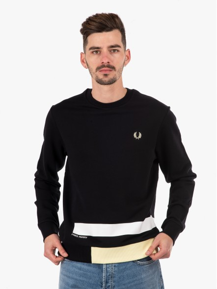 Fred Perry Printed Panelled | Fuxia