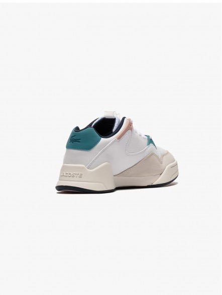 Lacoste Court Slam Synthetic and Leather W | Fuxia